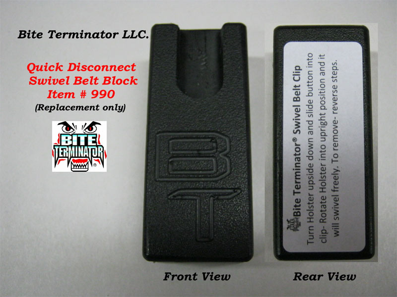 Bite Terminator® Replacement Block  #990